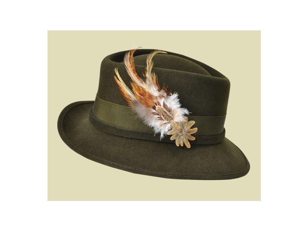 03-0914. Dámský myslivecký klobouk 7ce4e2bc3d