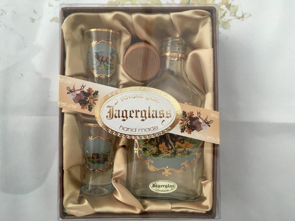 Jagerglass - Láhev 200ml+ 2ks