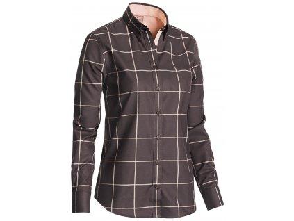 6602C Whisper Lady Shirt Checked Large