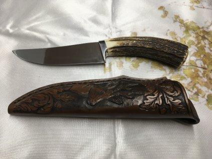 Nůž Jelení paroh, Jaspis Mládek 9
