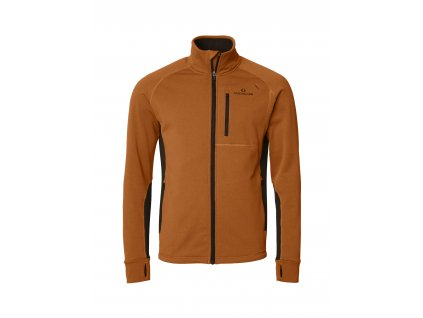 Tay Fleece W Orange/Brown