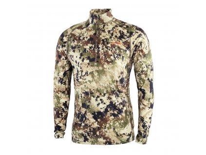 SA Merino Core Lt Wt Zip T