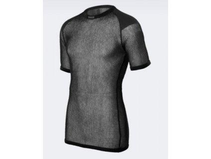 Funkční triko BRYNJE  Wool Thermo černé