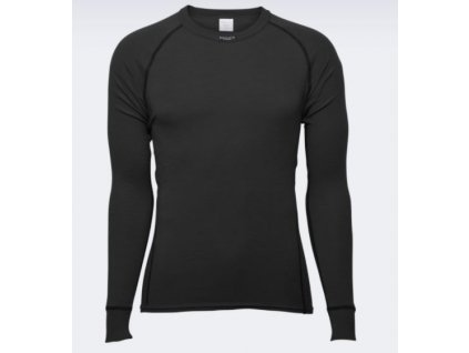 Merino triko BRYNJE  Classic Wool Shirt černé