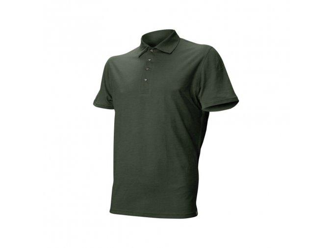Lasting vlněné merino triko DINGO 6262 zelená