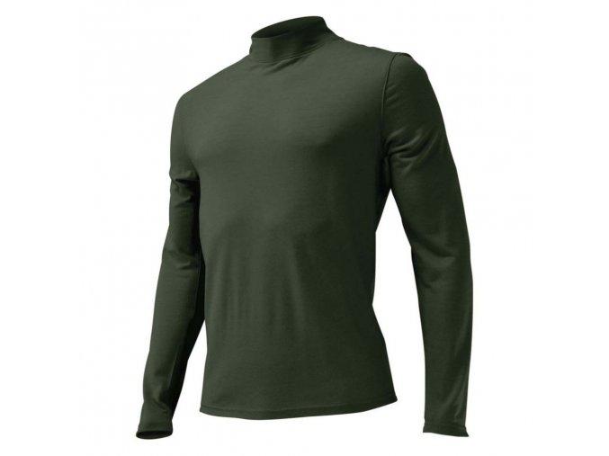 Lasting vlněné merino triko WAMUR 6262 zelená