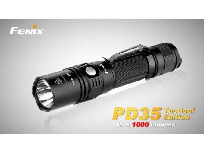 Taktická LED svítilna Fenix PD35 TAC