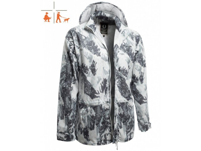 Snow Camo Cover Coat