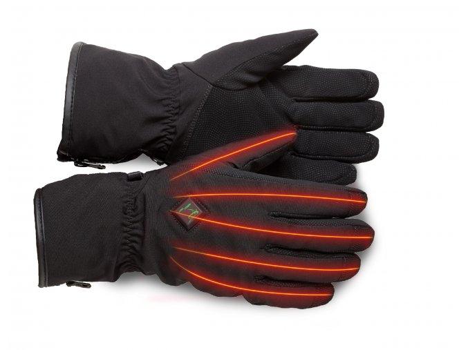 Zesílené membránové rukavice vyhřívané