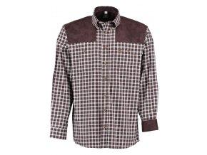Pánská flanelová košile Trachten