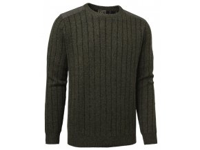 5496G Fjord Plattern Sweater Green Gallery1 820x1024
