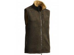Milestone Fleece Vest Brown Lady