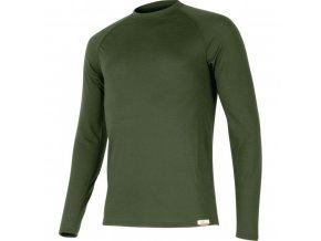 Lasting vlněné merino triko ROSTA 6262 zelená