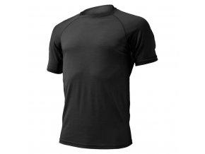 Lasting vlněné merino triko QUIDO 9090 černá