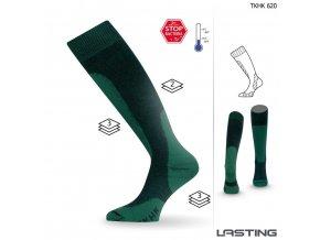 Lasting ponožky TKHK 620 zelená