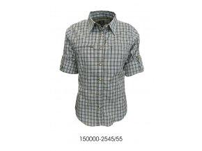 Trachten dámská košile zip krátký rukáv