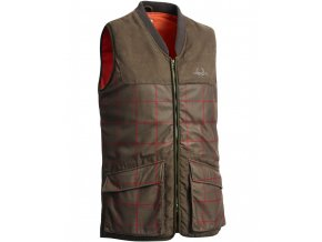6609C Whisper Vest Checked Gallery1 820x1024
