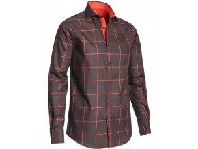6601C Whisper Shirt Checked Gallery1 820x1024