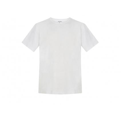 Pánské konopné tričko HIRZO White