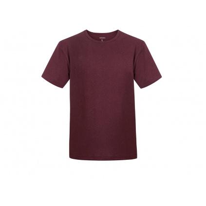 Pánské konopné tričko HIRZO Burgundy