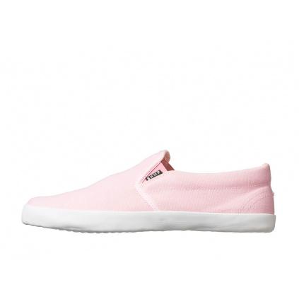 Konopné barefoot tenisky VIKLA Slip-on Pink-White