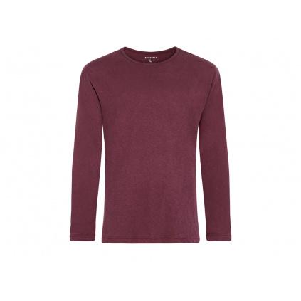 Pánské konopné tričko HUNEK Burgundy