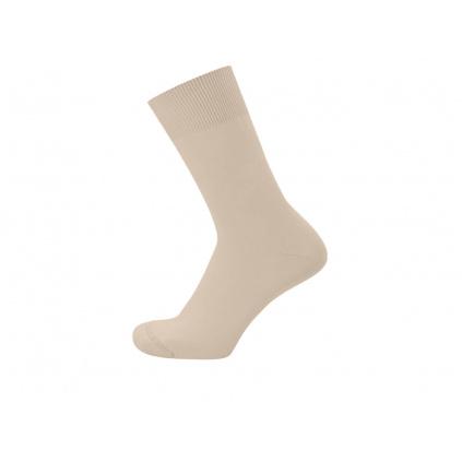 Hladké konopné ponožky LUNA Natural