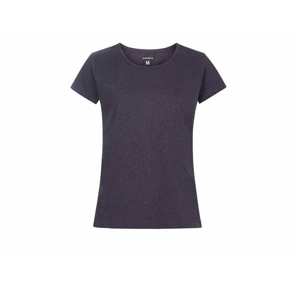 Women's Hemp T-Shirt BINKA Grey