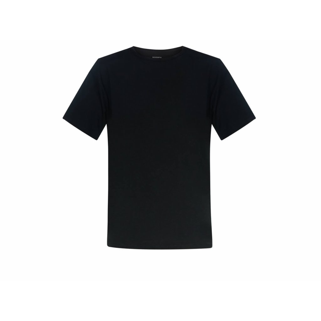 Men's Hemp T-Shirt HIRZO Black