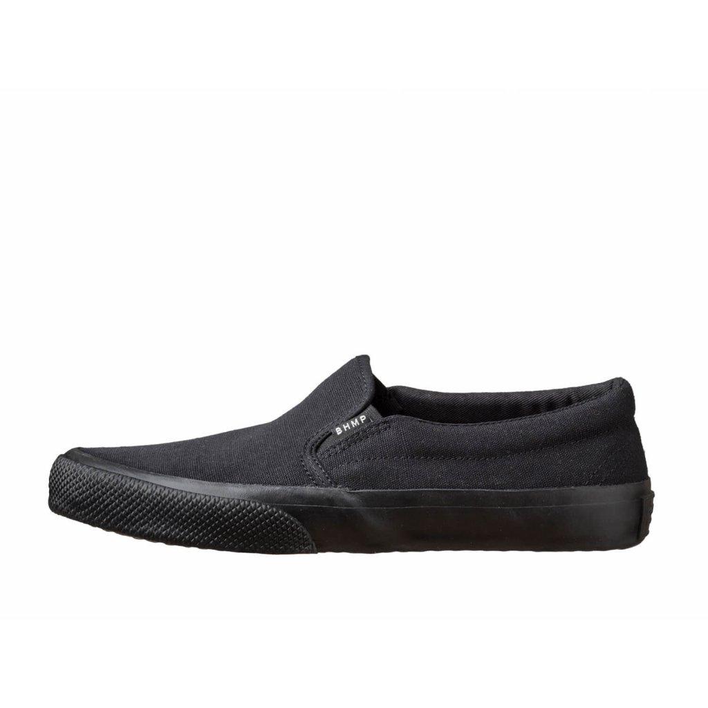 Hemp sneakers VITAN 2.0 Slip-on Black-Black