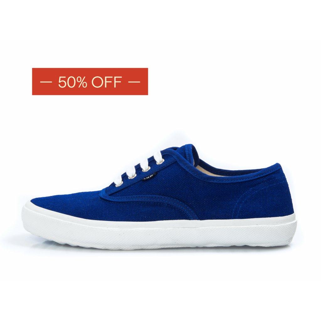 Hemp sneakers KRASEN 2.0 Plimsole Navy-White