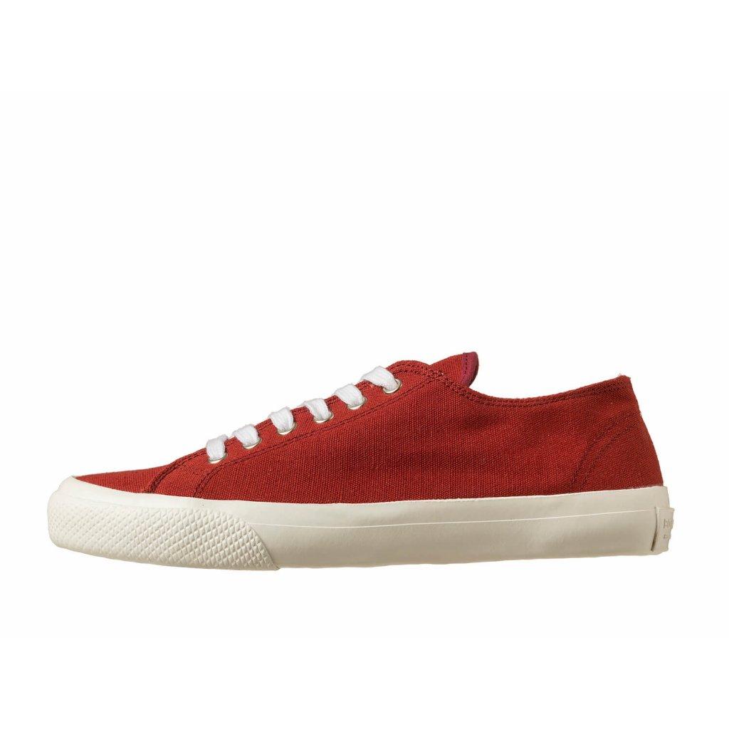 Hemp sneakers HOLATA 2.0 Court Low Burgundy-White