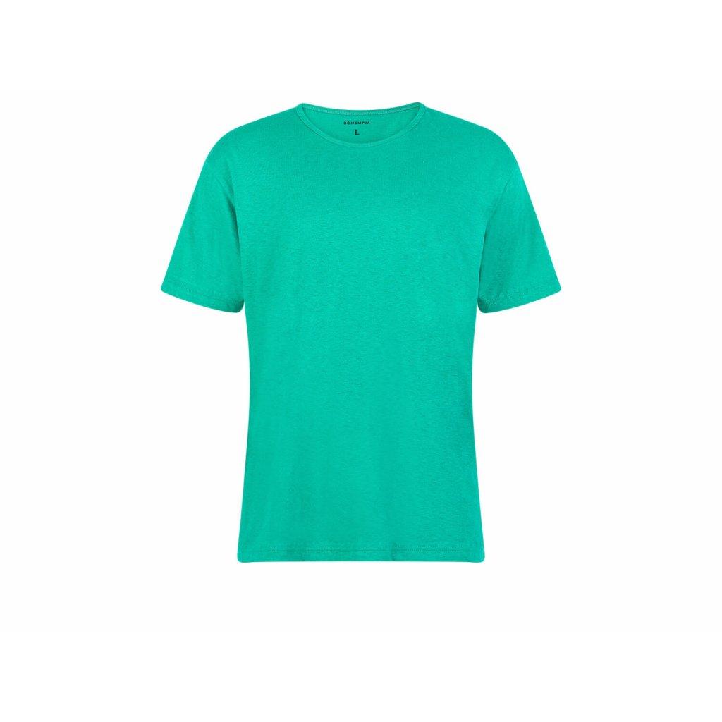 Men's Hemp T-Shirt HIRZO Emerald