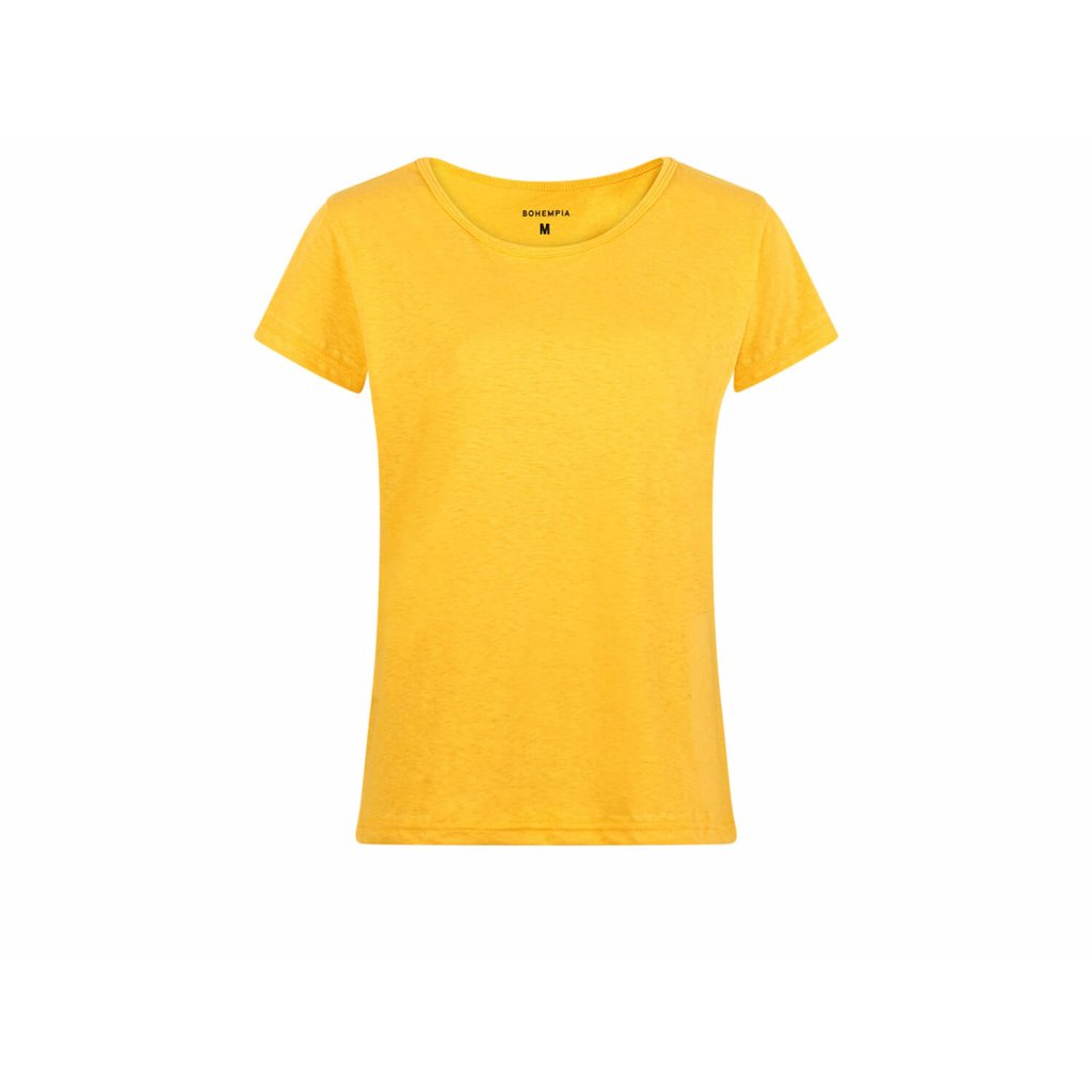 Women's Hemp T-Shirt BINKA Marigold