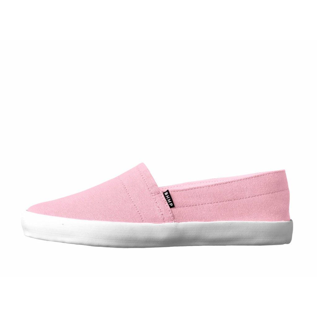 Hemp espadrilles MALISKA 2.0 Pink-White