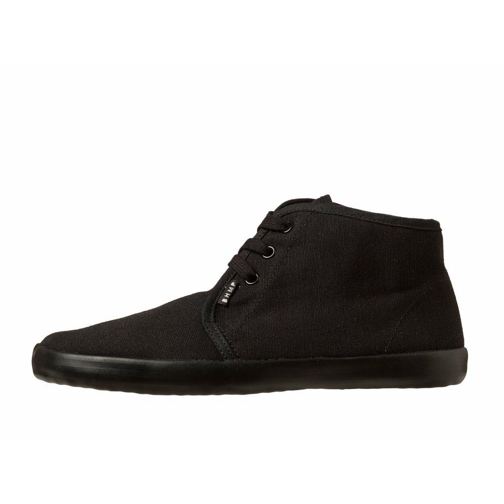 Hemp barefoot sneakers ZELEK Chukka Black-Black