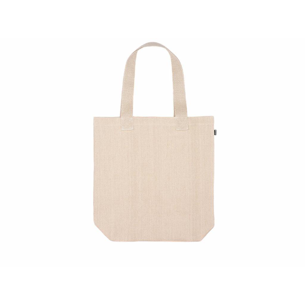 Hemp tote bag BORA Natural