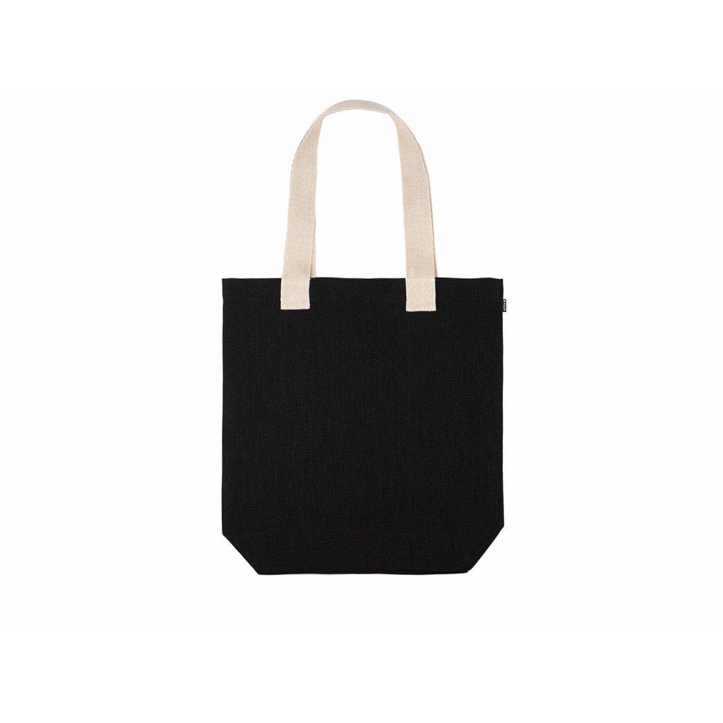Hemp tote bag BORA Black