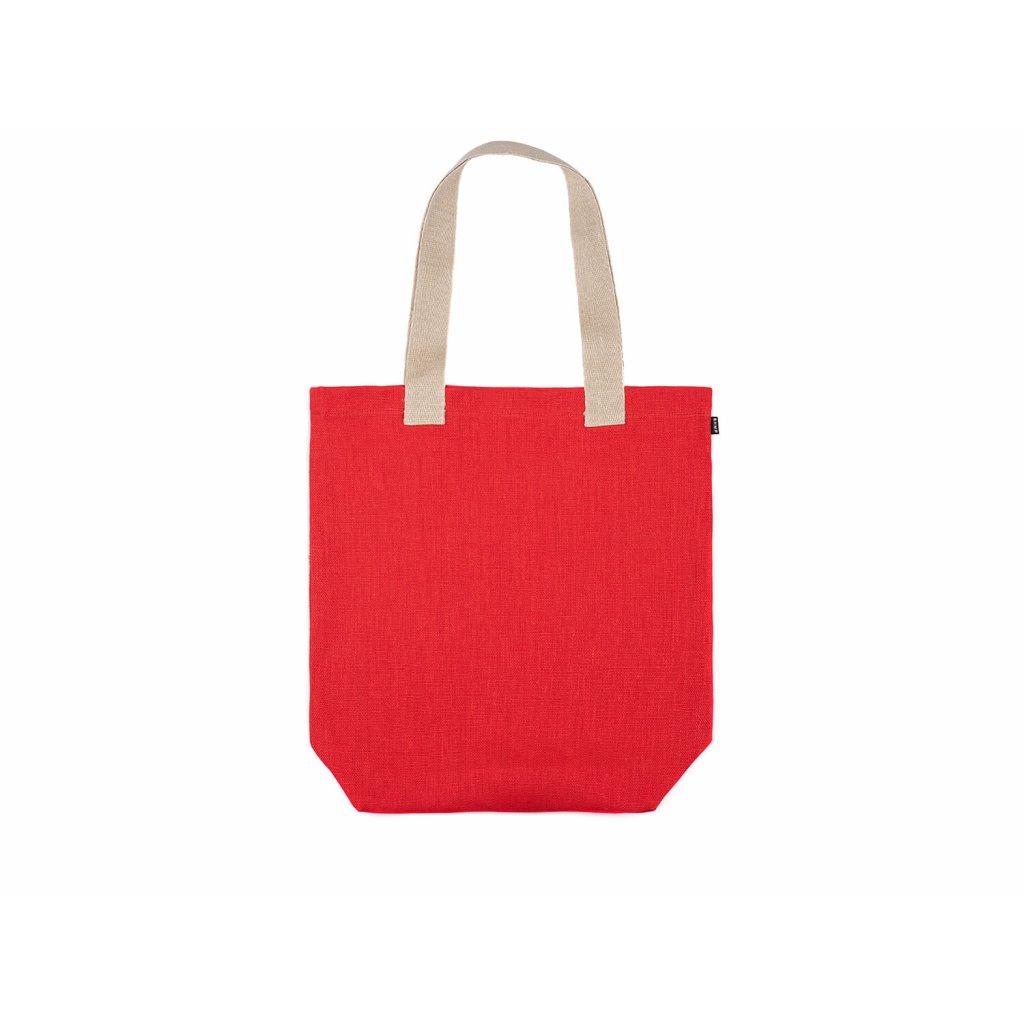 Hemp tote bag BORA Red