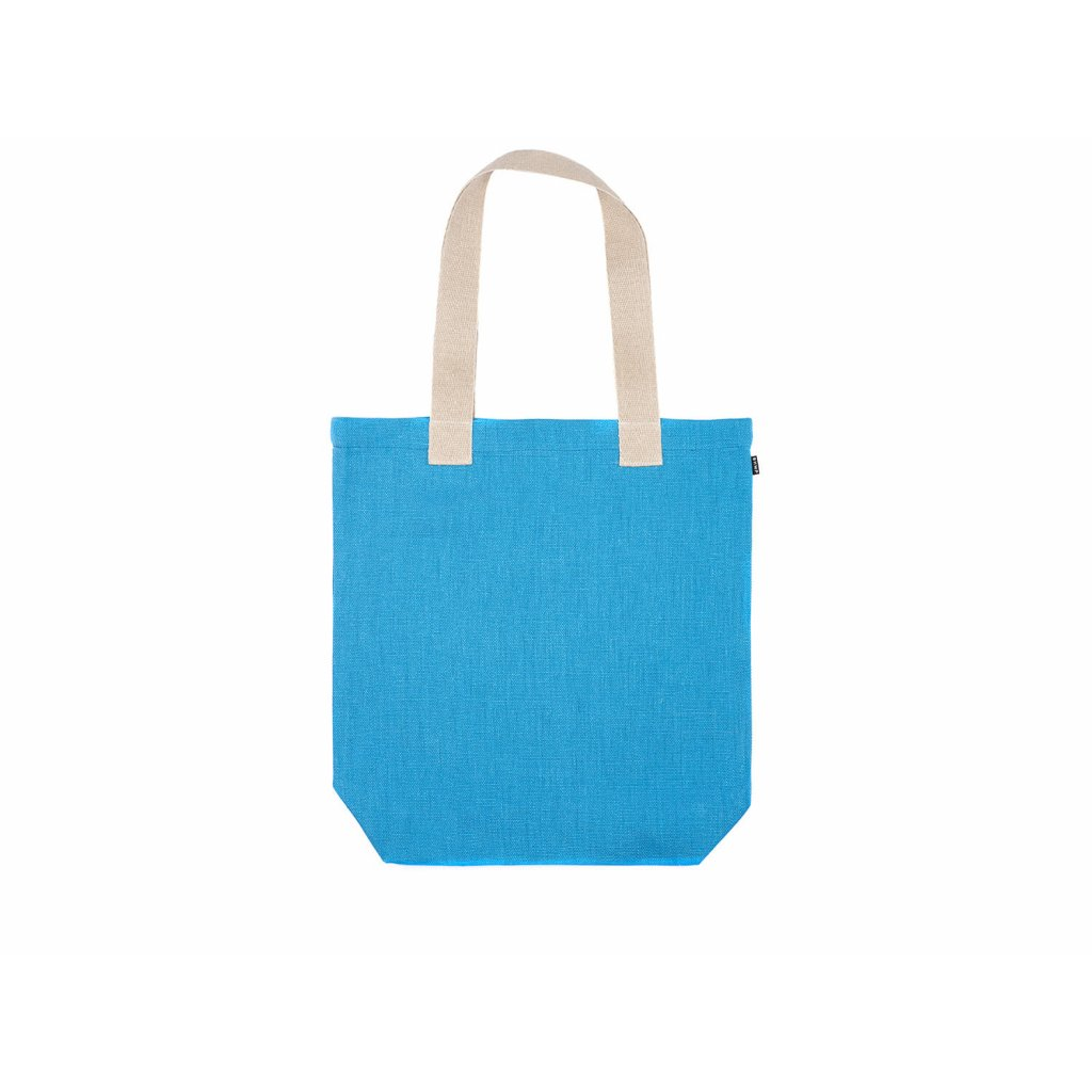 Hemp tote bag BORA Azure