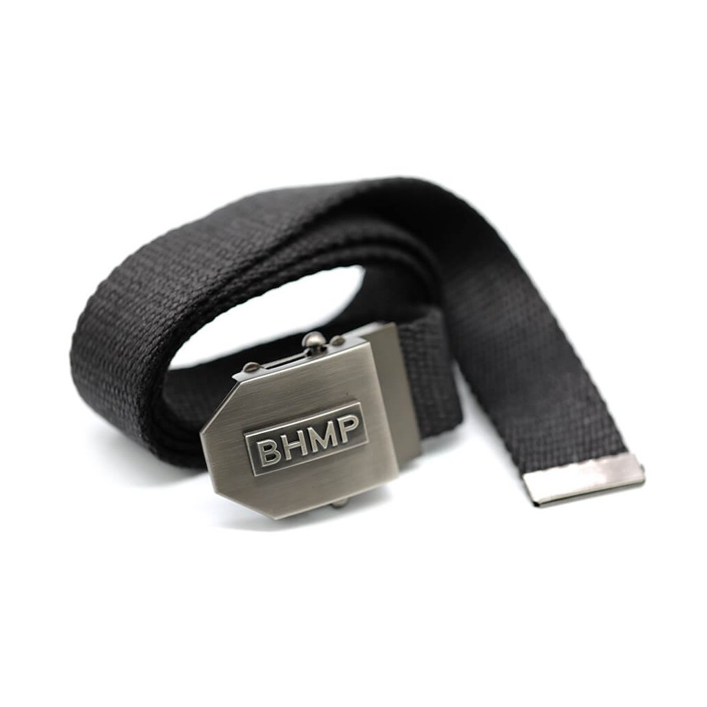 Stylish men's black belt
