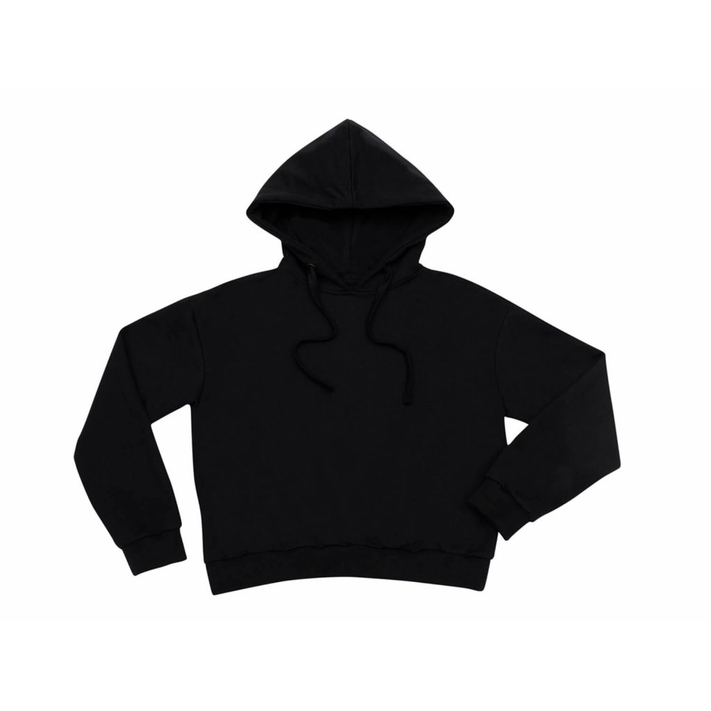 Women's hemp hoodie LEVA Black