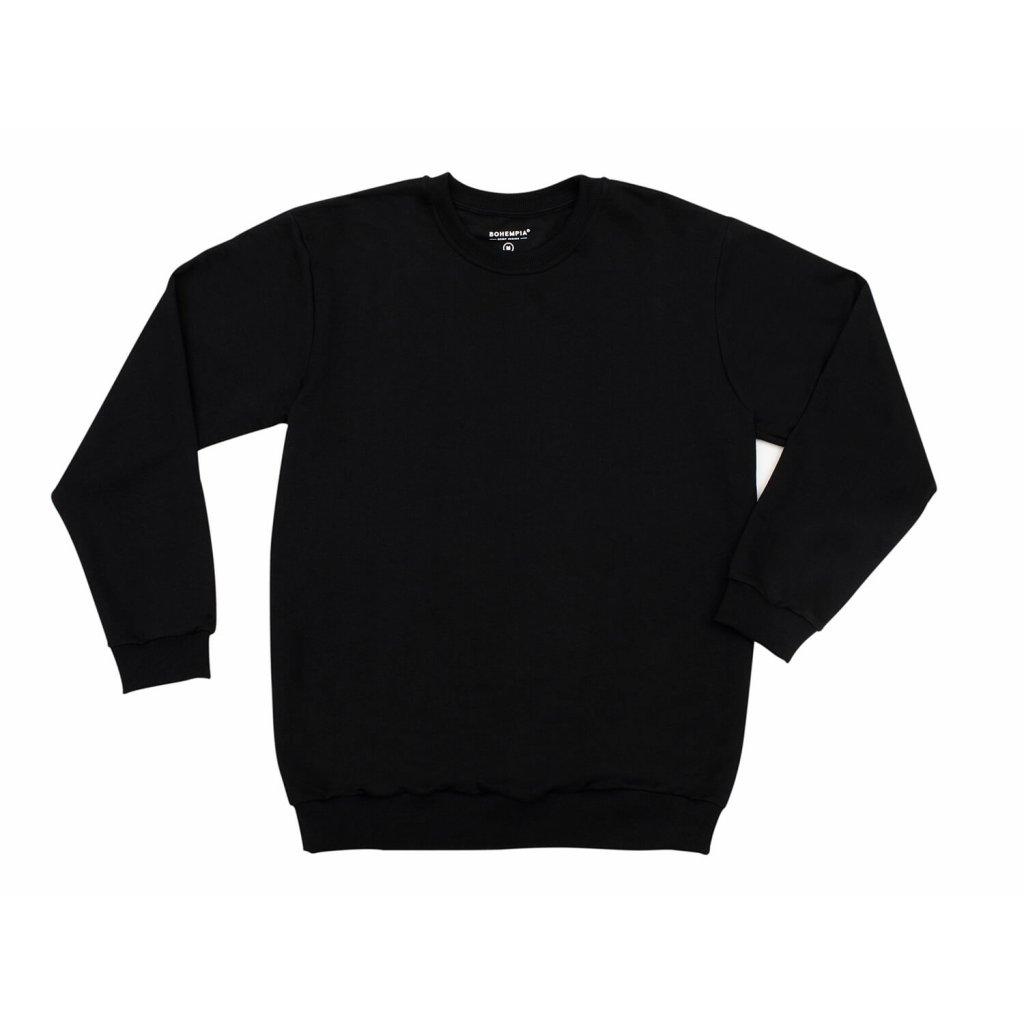 Unisex hemp sweatshirt PERUT Black