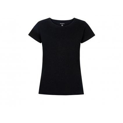 Women's Hemp T-Shirt BINKA Black