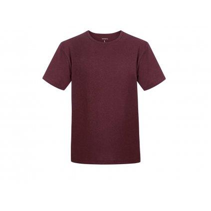 Men's Hemp T-Shirt HIRZO Burgundy