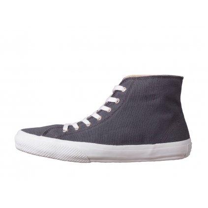 Hemp sneakers ORASA 2.0 High Top Dark Grey-White