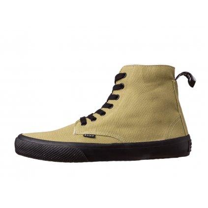 Hemp sneakers MILEK 2.0 Urban Boot Olive-Black