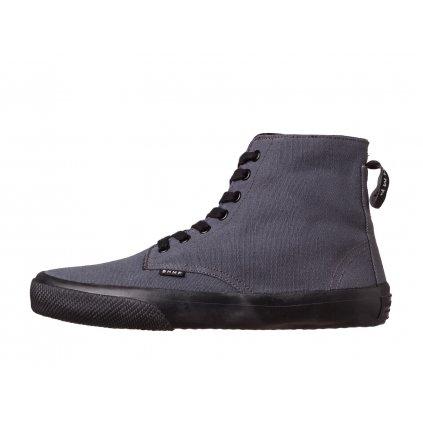 Hemp sneakers MILEK 2.0 Urban Boot Dark Grey-Black
