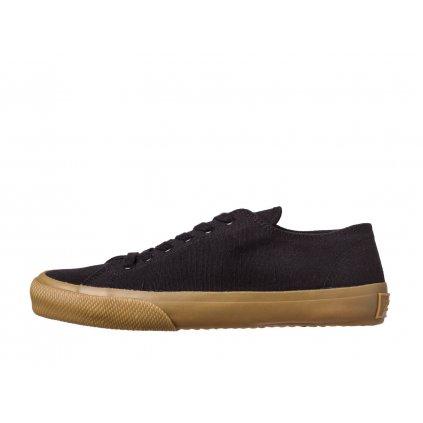 Hemp Sneakers HOLATA 2.0 Court Low Black-Gum