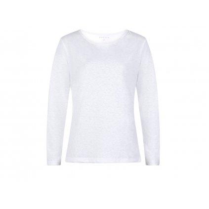 Women's Hemp Long Sleeve T-Shirt BELKA White